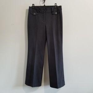 Ann Taylor signature gray dress pants